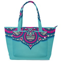 Blue Mandala Back Pocket Shoulder Bag