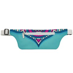 Blue Mandala Active Waist Bag