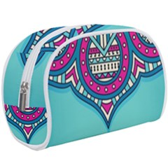 Blue Mandala Makeup Case (large)