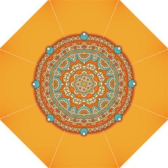 Sunshine Mandala Folding Umbrellas