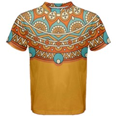 Sunshine Mandala Men s Cotton Tee
