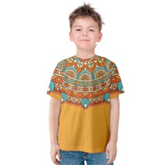 Sunshine Mandala Kids  Cotton Tee