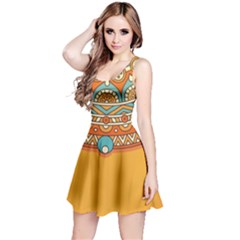 Sunshine Mandala Reversible Sleeveless Dress