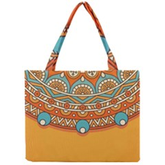 Sunshine Mandala Mini Tote Bag