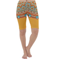 Sunshine Mandala Cropped Leggings