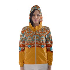 Sunshine Mandala Women s Hooded Windbreaker