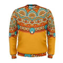 Sunshine Mandala Men s Sweatshirt
