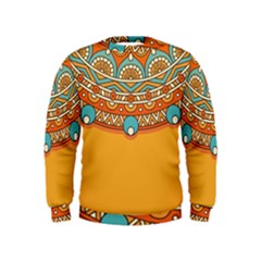 Sunshine Mandala Kids  Sweatshirt