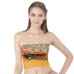 Sunshine Mandala Tube Top