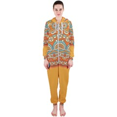 Sunshine Mandala Hooded Jumpsuit (ladies)