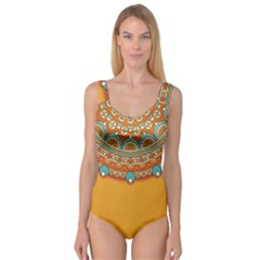 Sunshine Mandala Princess Tank Leotard