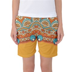 Sunshine Mandala Women s Basketball Shorts