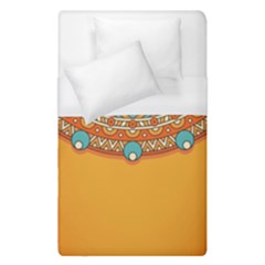 Sunshine Mandala Duvet Cover (single Size)