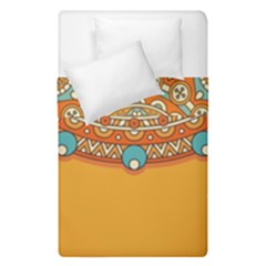 Sunshine Mandala Duvet Cover Double Side (single Size)