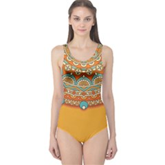 Sunshine Mandala One Piece Swimsuit
