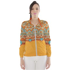 Sunshine Mandala Women s Windbreaker