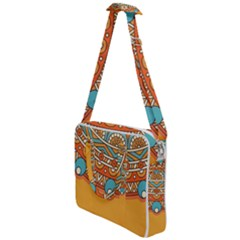 Sunshine Mandala Cross Body Office Bag