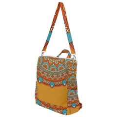 Sunshine Mandala Crossbody Backpack