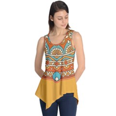 Sunshine Mandala Sleeveless Tunic