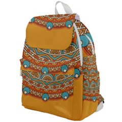 Sunshine Mandala Top Flap Backpack