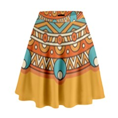 Sunshine Mandala High Waist Skirt