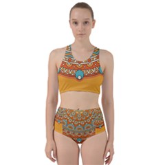 Sunshine Mandala Racer Back Bikini Set