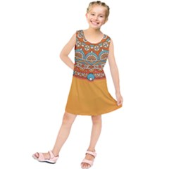 Sunshine Mandala Kids  Tunic Dress
