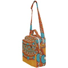 Sunshine Mandala Crossbody Day Bag