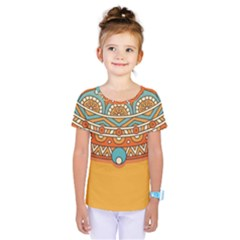 Sunshine Mandala Kids  One Piece Tee