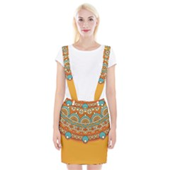 Sunshine Mandala Braces Suspender Skirt