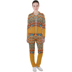 Sunshine Mandala Casual Jacket And Pants Set