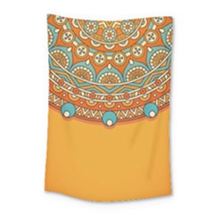 Sunshine Mandala Small Tapestry
