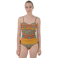 Sunshine Mandala Sweetheart Tankini Set
