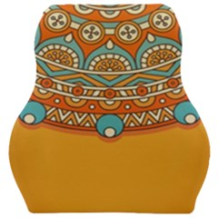 Sunshine Mandala Car Seat Velour Cushion