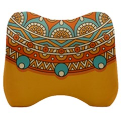 Sunshine Mandala Velour Head Support Cushion