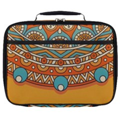 Sunshine Mandala Full Print Lunch Bag