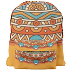 Sunshine Mandala Giant Full Print Backpack