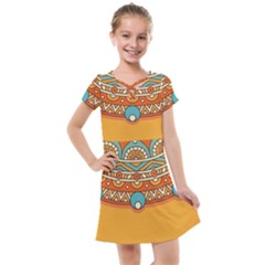 Sunshine Mandala Kids  Cross Web Dress