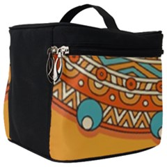 Sunshine Mandala Make Up Travel Bag (big)
