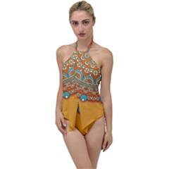Sunshine Mandala Go With The Flow One Piece Swimsuit