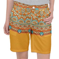 Sunshine Mandala Pocket Shorts