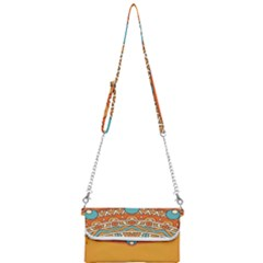 Sunshine Mandala Mini Crossbody Handbag