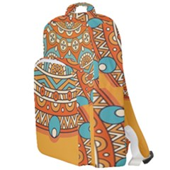 Sunshine Mandala Double Compartment Backpack
