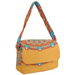 Sunshine Mandala Courier Bag