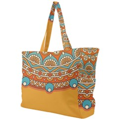 Sunshine Mandala Simple Shoulder Bag