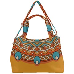 Sunshine Mandala Double Compartment Shoulder Bag