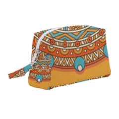 Sunshine Mandala Wristlet Pouch Bag (medium)