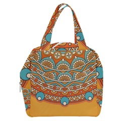 Sunshine Mandala Boxy Hand Bag