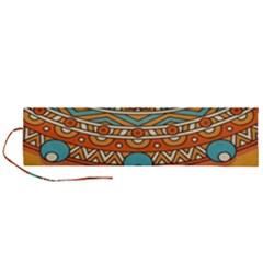 Sunshine Mandala Roll Up Canvas Pencil Holder (l)