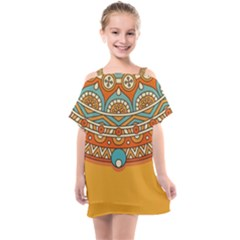 Sunshine Mandala Kids  One Piece Chiffon Dress